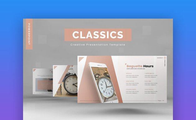 Classics PowerPoint Template