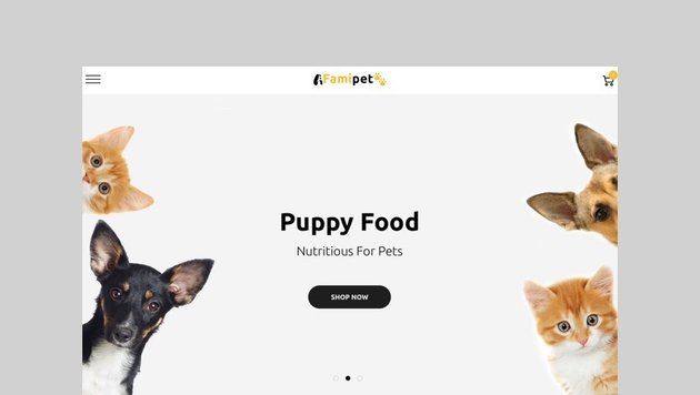 Famipet - Pet Food Shopify Theme