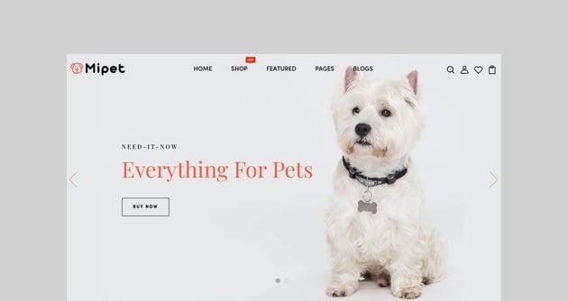 Mipet - Pets Shop Responsive Shopify Theme