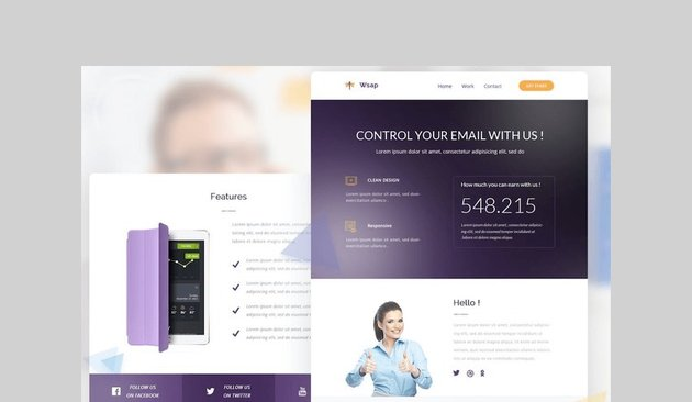 Email Newsletter by Ra-Themes