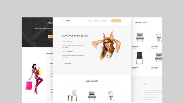 Shop - Responsive Email + Online Template Builder by CastelLab