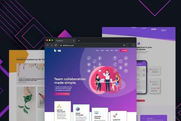 Boro HTML Landing Page Template