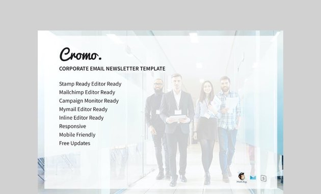 Cromo corporate and real estate templates