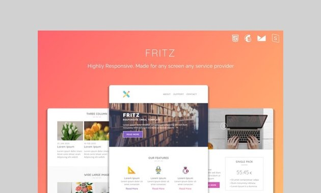 Fritz real estate email template
