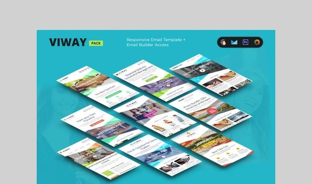 Viway real estate email template