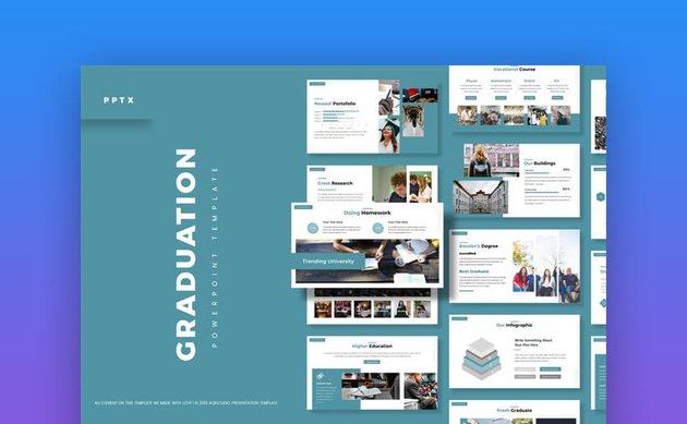 Graduation Premium PowerPoint Template