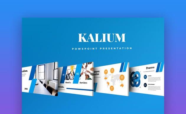 Kalium PowerPoint Presentation Template