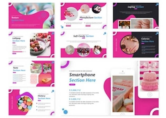 Sweetness template on Envato Elements