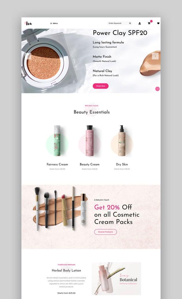 Iva - Versatile Beauty WooCommerce Theme