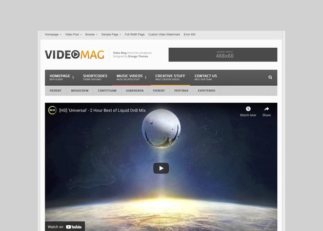 VideoMag - Viral Video WordPress Theme
