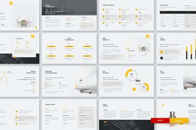 Ecro template from Envato Elements
