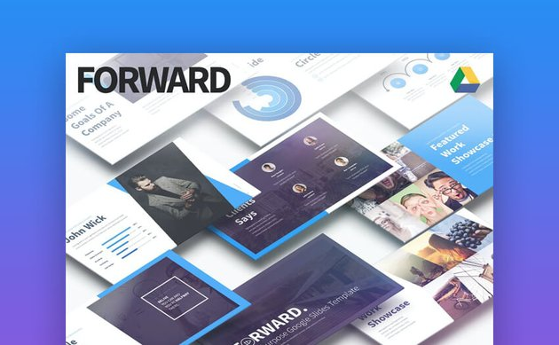 Forward Multipurpose Google Slides Template