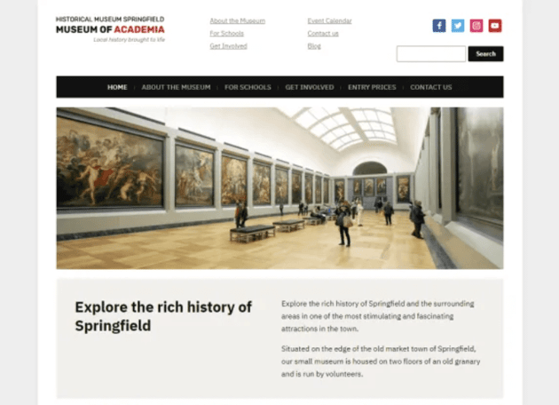 Museo WordPress theme
