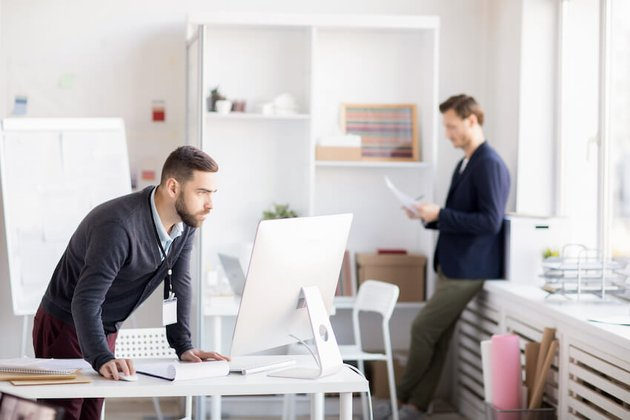 Business office image on Envato Elements