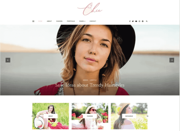 Chic Lite WordPress theme