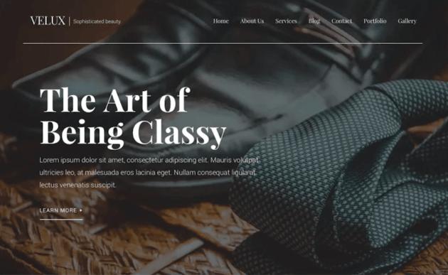 Velux WordPress blog theme