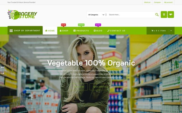 Grocery Store WooCommerce Theme