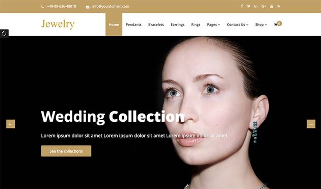 Jewelry Store WooCommerce Store