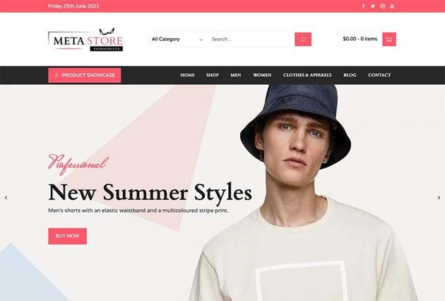 Meta Store WooCommerce Theme