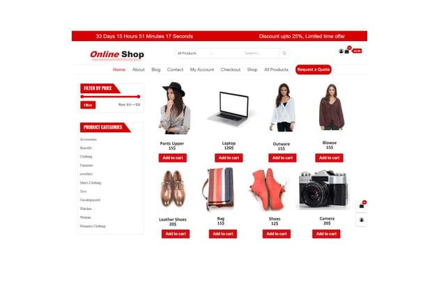 Shop Online WooCommerce Theme