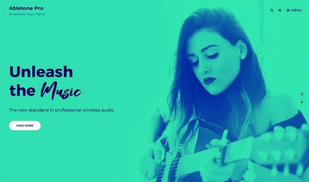 Abletone Music WordPress Theme