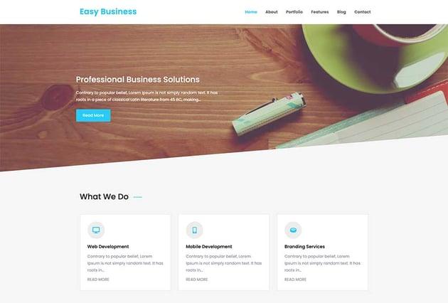 Easy Business WordPress Theme