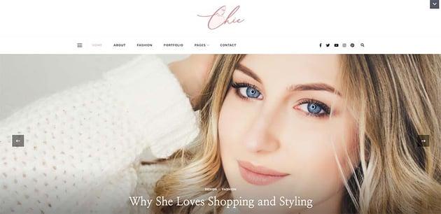 Chic Lite - Free WordPress Theme