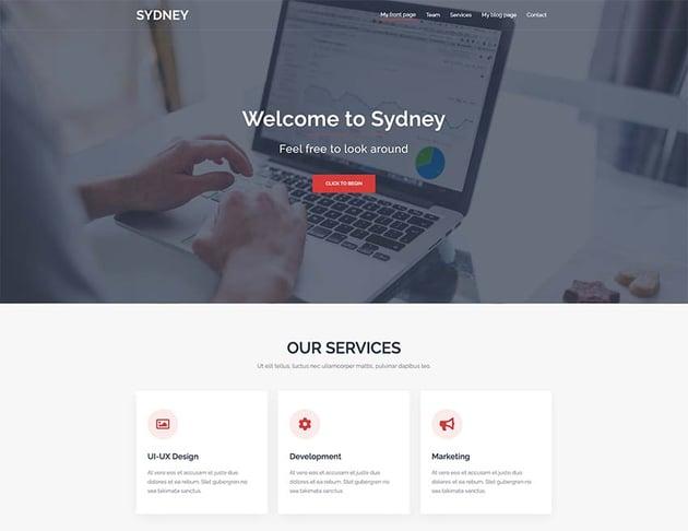 Sydney - Free WordPress Theme