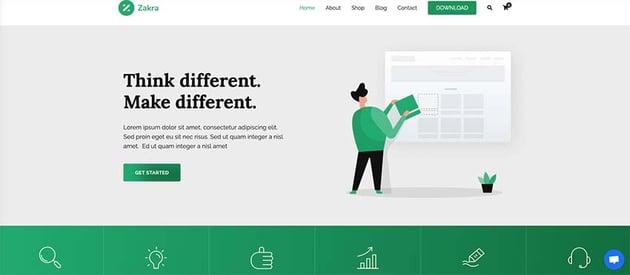 Zakra - Free WordPress Theme