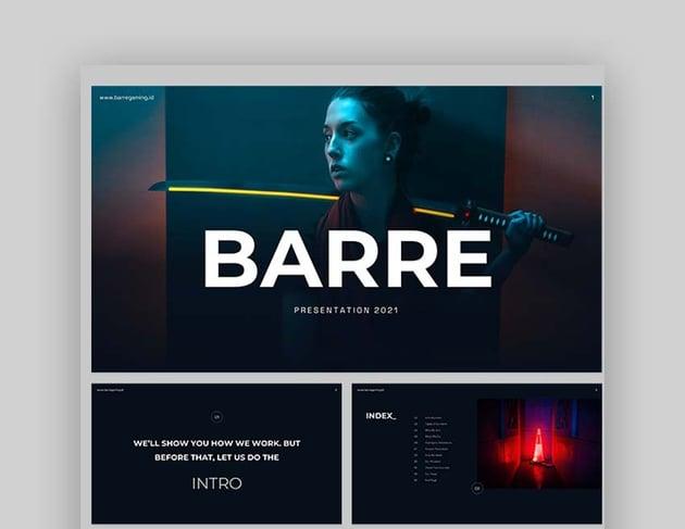 Barre Space Presentation