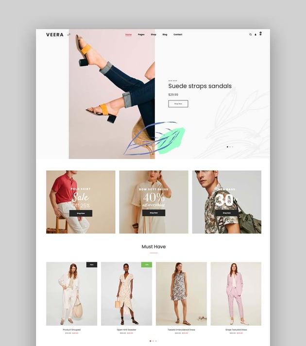 Veera - Multipurpose eCommerce Bootstrap 5 Template
