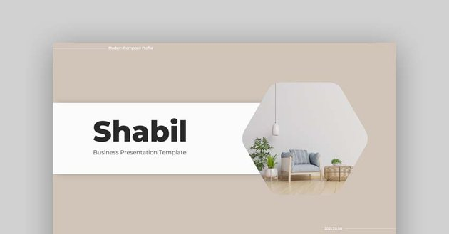 Shabil – Business PowerPoint Template