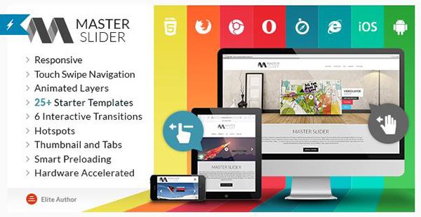 Master Slider - jQuery Touch Swipe Slider