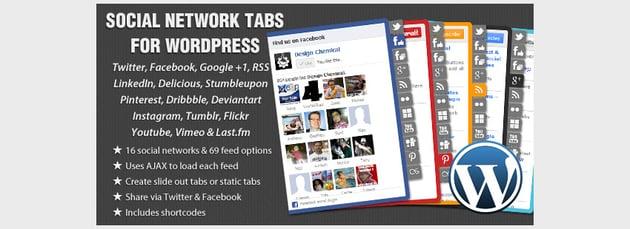 Social Network Tabs For WordPress