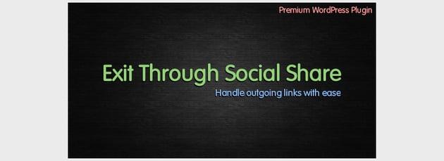 Exit Through Social Share