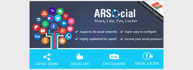 ARSocial - Social Share Social Locker