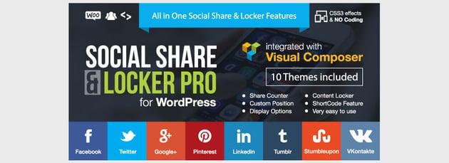 Social Share Locker Pro WordPress Plugin