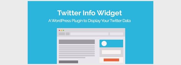 Twitter Info Widget WordPress Plugin