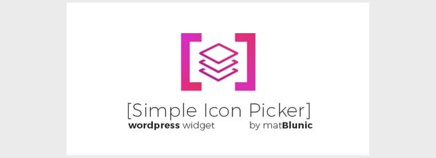 Simple Icon Picker