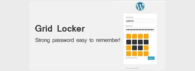 Login Plugin for WordPress - Grid Locker
