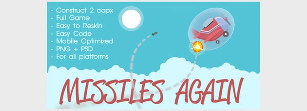 Missiles Again - HTML5 game Construct 2 Capx Admobvvvvvvvvvvvvvvvvvvvvvvvv