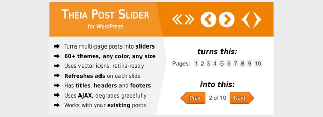 Theia Post Slider for WordPress