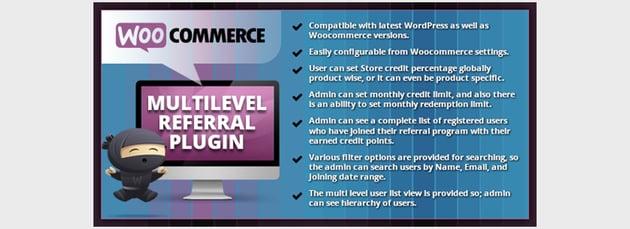 Referidos multinivel - Plugin de afiliados de WooCommerce para WordPress