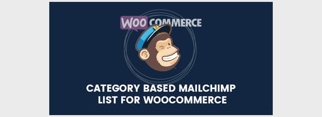 Category Based Mailchimp List For WooCommerce