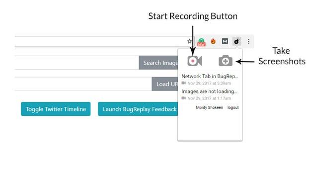 BugReplay Chrome Extension