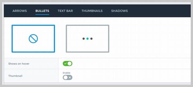 Changing Slide Bullets in Smart Slider