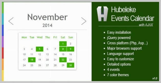 Hubeleke Events Calendar