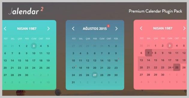 Jalendar 2 Calendar Kit