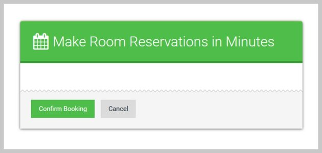 Booking Form Header and Footer