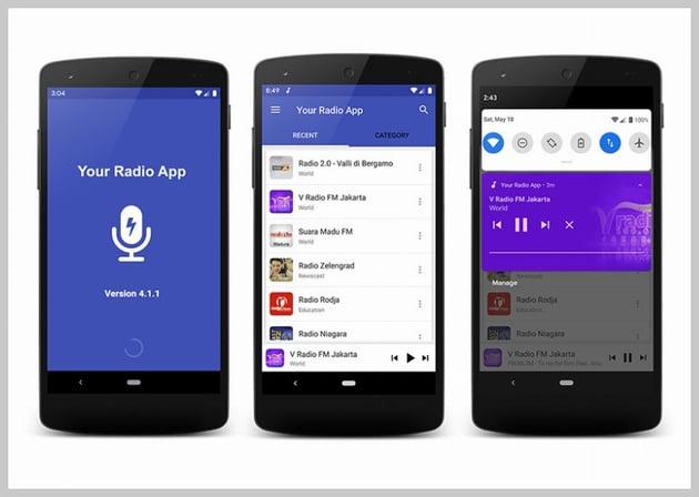Your Radio App